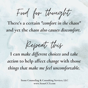 Comfort in the Chaos