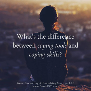 Coping Tools vs. Coping Skills