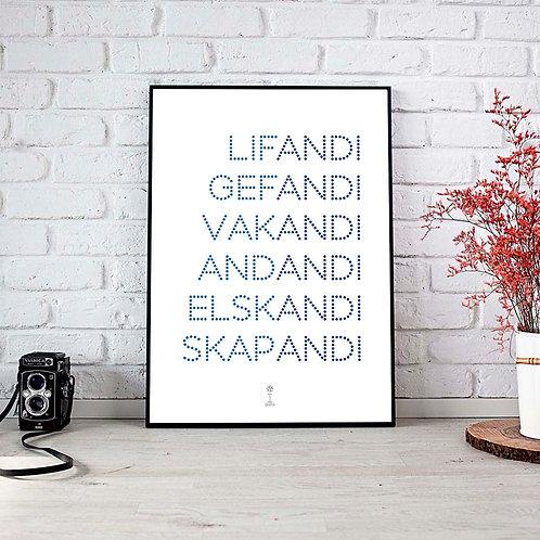 Poster -ANDI / SPIRIT