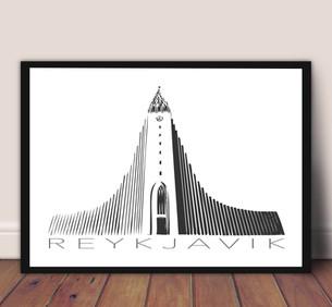 Reykjavík Plakat / Poster