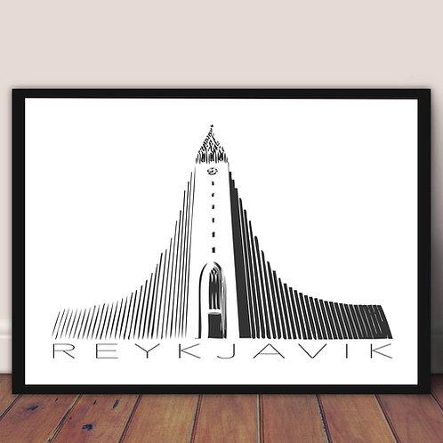 Poster - Reykjavik