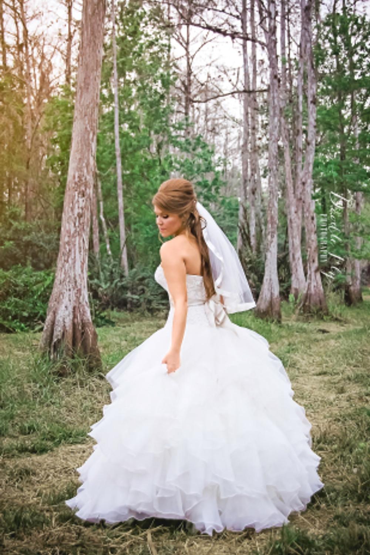 Beautiful-Bride-Country-Wedding-Woods