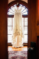 Wedding Gown at Burroughs Home by Doodle Fly Photography