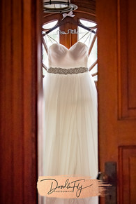 Wedding Dress Photo at the Burroughs Home, Fort Myers Florida, Photo By Doodle Fly Photography www.DoodleFlyPhotos.com
