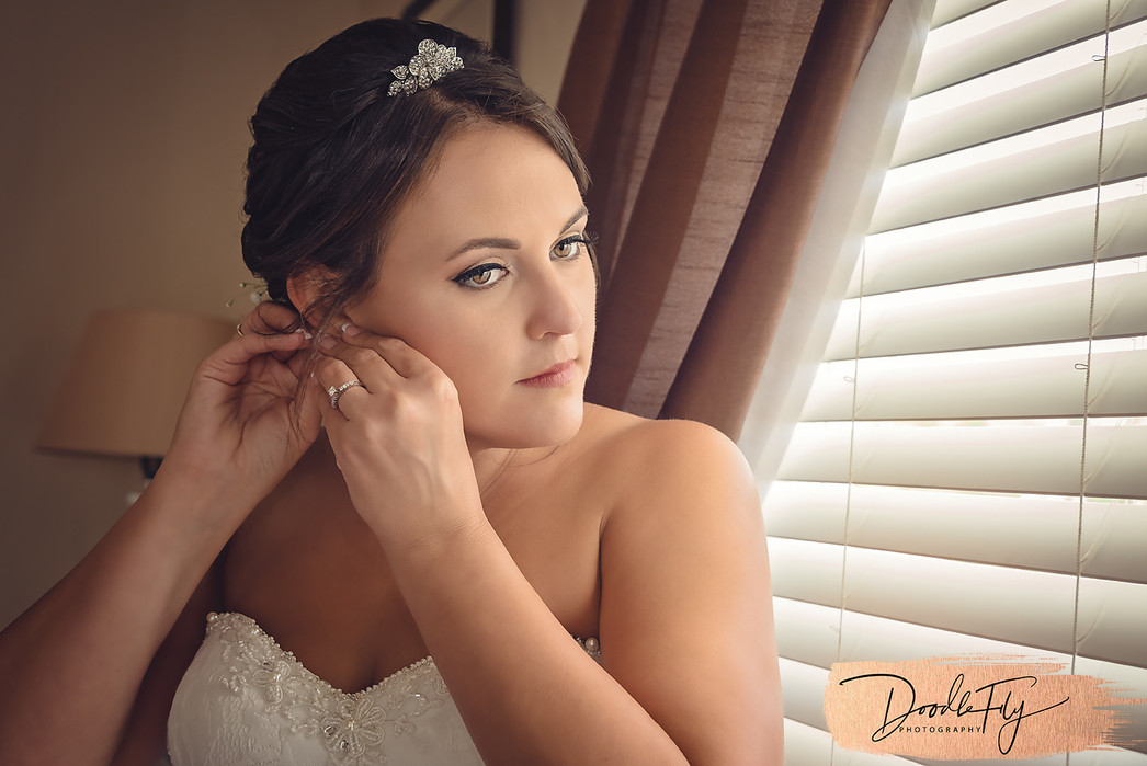Bride Getting Ready, Photo by Doodle Fly Photography, Wedding Photographers, Florida
