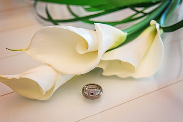 Calla Lilly & Rings: Photo By Doodle Fly Photography www.DoodleFlyPhotos.com