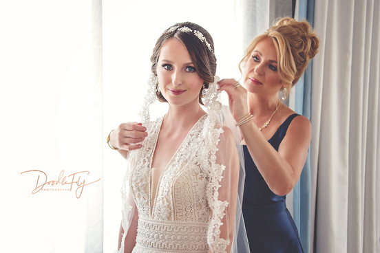 Bride Getting Ready, Indigo Hotel, Fort Myers Florida by Doodle Fly Photography
