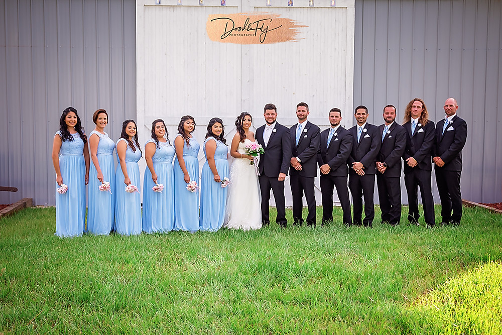 Wedding Party, Barn Wedding, Country Wedding, Venue Naples Wedding Barn, Naples Florida, Wedding Photos by Doodle Fly Photography, Florida Wedding, SWFL Wedding, Naples Wedding