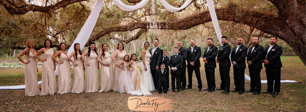 Elegant Wedding, Arching Oaks Ranch, Labelle Photo By Doodle Fly Photography www.DoodleFlyPhotos.com