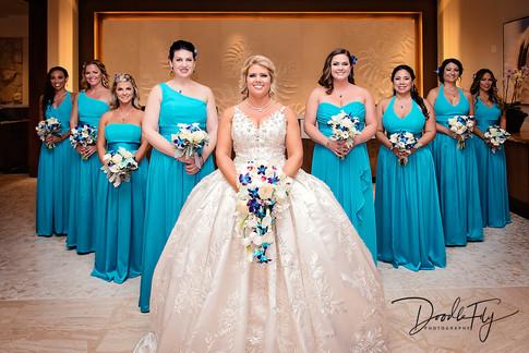 Bridal Party at JW Marriott, Marco Island