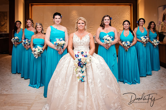 Bridal Party at JW Marriott, Marco Island