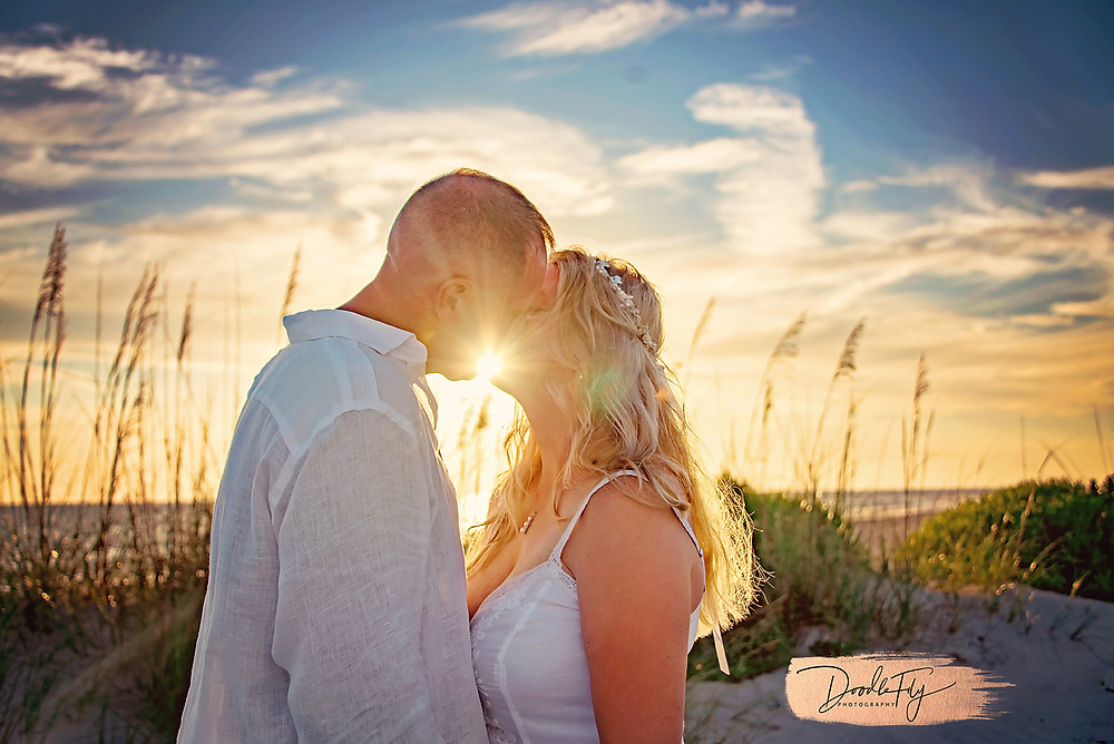 Beach Wedding Cayo Costa FL, by Doodle Fly Photography