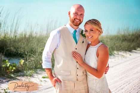 Wedding Photos,Beach, Beach Wedding, Fort Myers Beach,  First Look, Bride & Groom, Fort Myers Beach, Couple, Pink Shell Resort, Wedding Photography,