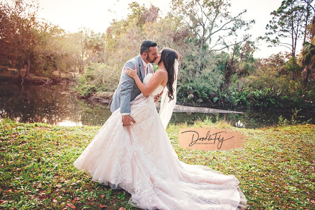 Bride & Groom Portrait, Wedding, Southern Waters, North Fort Myers FL, by Doodle Fly Photogrpahy