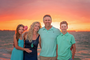 Beach Family Portraits by Sanibel Florida