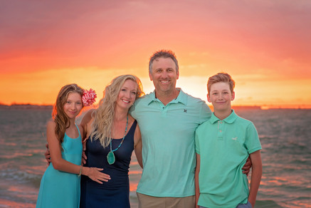 Beach Family Portraits by Sanibel Florida