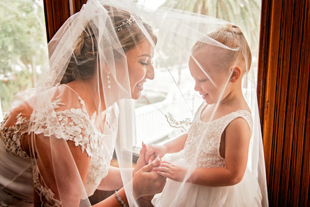 Bride & Child by Doodle Fly Photography