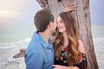 Couple - Engagement Session @ Lovers Key Beach, Florida by Doodle Fly Photography