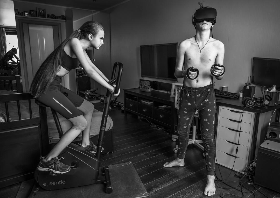 Virtual Reality vs Sport * Спорт и Виртуальная реальность