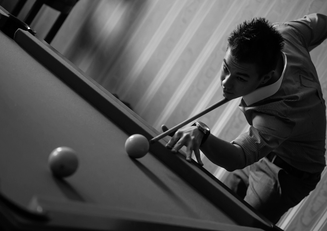 Billiards game * Игра в бильярд