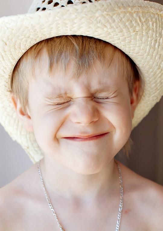 Portrait of child * Портрет мальчика
