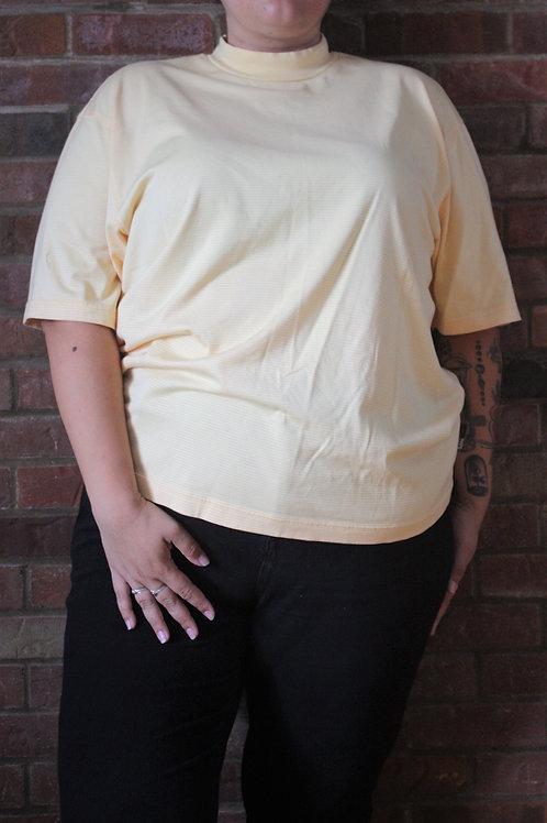 Tee shirt Izod a col monté ligné