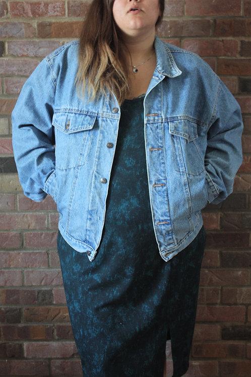 Vintage veste en jean XL