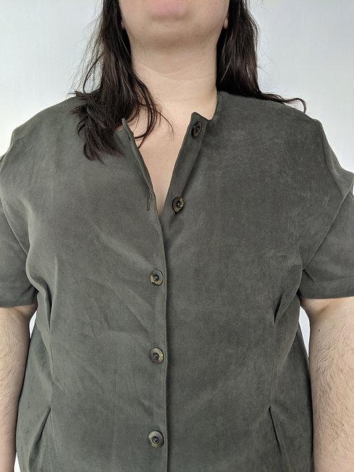 Robe vintage khaki gr. 24w