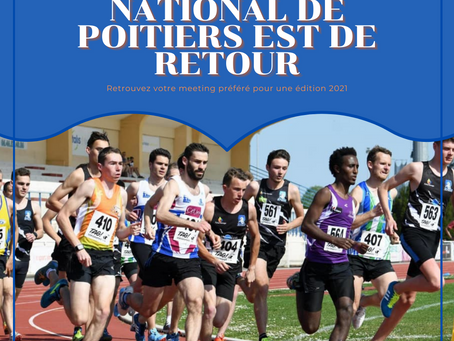 Le Meeting National de Poitiers est de retour !