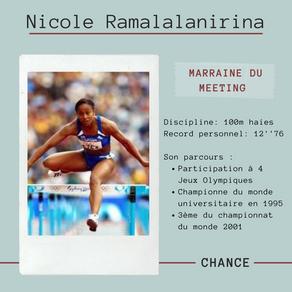 Présentation de notre marraine 2021 : Nicole Ramalalanirina