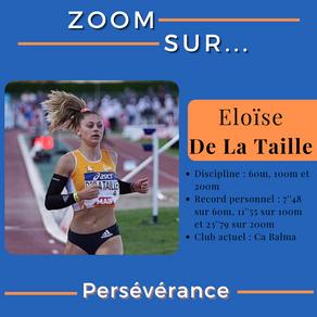 🔎 Zoom sur : Eloïse De La Taille