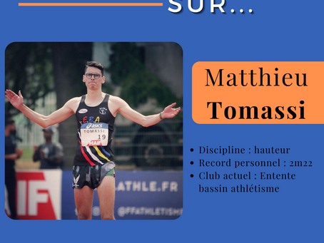 🔎 Zoom sur : Matthieu Tomassi