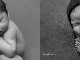 Newborn Boy Photo Session | Houston Newborn Photographer | Batman Themed Photos
