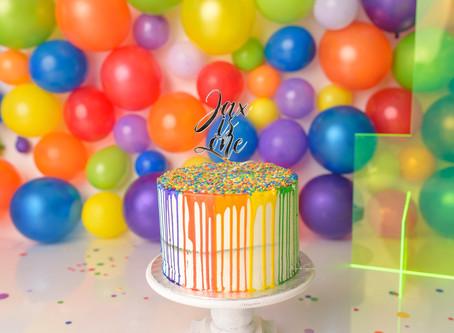 So fun to turn one! | Cake Smash | Cake Smash Photographer