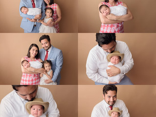 Newborn Boy | Houston Newborn Photographer | Colorful Newborn Pictures