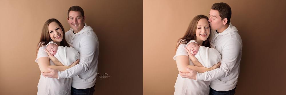 newborn girl portraits