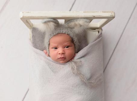 Easter Newborn Session | Cypress Newborn Photographer | Houston Newborn Photographer