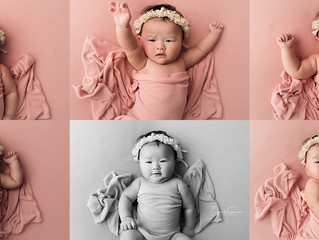 Three month old pictures | Cypress Baby Photographer