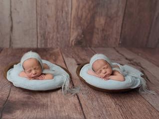 Twin Boy Newborn Session | Cypress Newborn Photographer