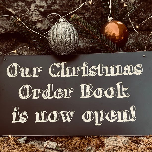 Order Book Now Open