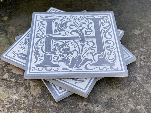 Set of 4 Initial Coasters
