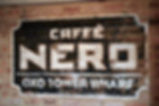 Caffe Nero sign