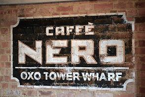 Caffe Nero sign