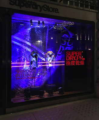 Superdry Retail Window