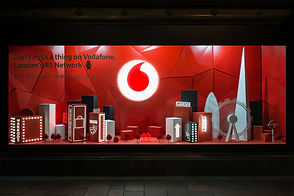 Harrods Vodafone Retail Window