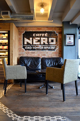Caffee Nero Interior sign