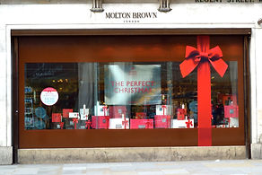 Molton Brown Christmas Install