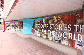 Large Vinyl print for The British Library