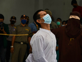 77 Lashes for a Gay Couple in Indonesia