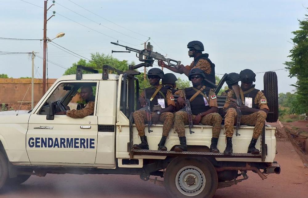 Burkina Faso Security Forces, AFP Photo/ISSOUF SANOGO